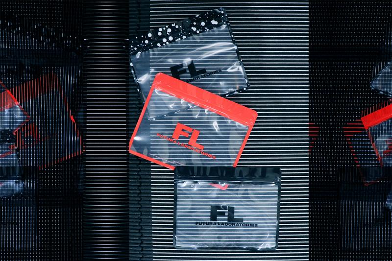 Futura Laboratories Pake Release Info Japanese Zip Bag Red Black Drops graffiti Isetan Shinjuku Harajuku Pop Up