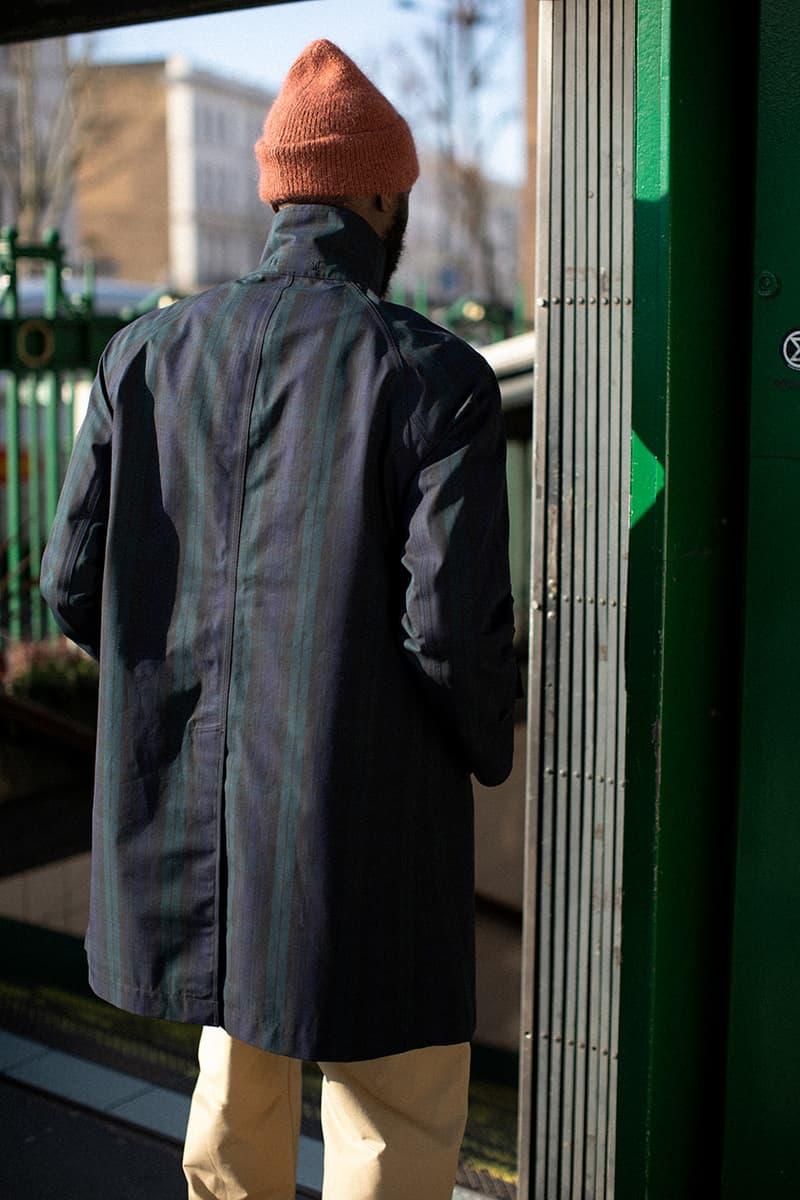 Couverture & The Garbstore x nanamica GORE-TEX Soutien Collar Coat Release Information Drop Outerwear Coats Weather Proof Nylon Season Spring Summer 2020 SS20