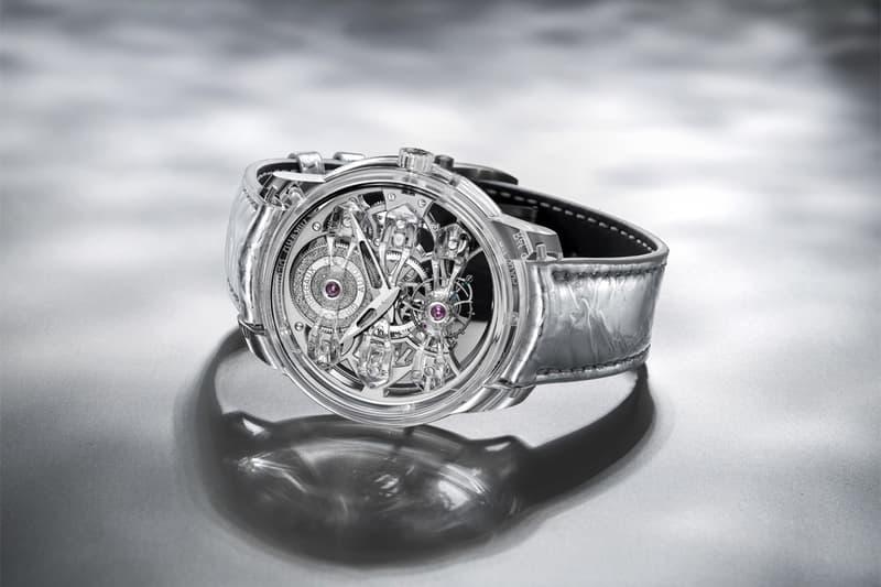 girard perregaux watches accessories 300000 300k quasar light limited edition tourbillon