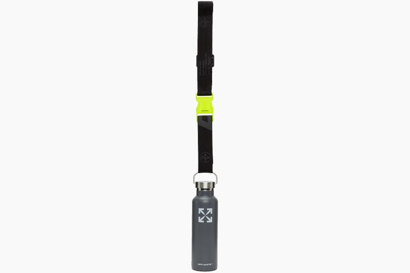 Off-White Grey Logo Shoulder Strap Thermos Release Where to buy Price 2020 Virgil Alboh