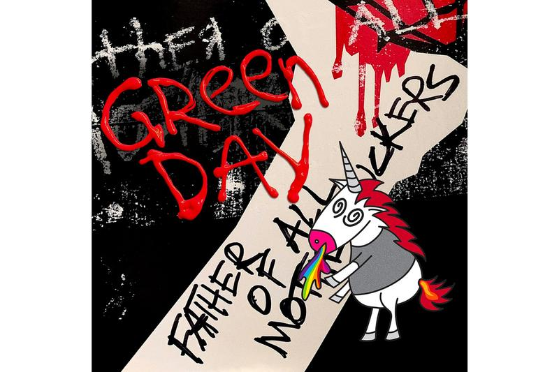 Green Day Father of All motherfuckers Album Stream billie joe armstrong tre cool mike dirnt american idiot Release Info