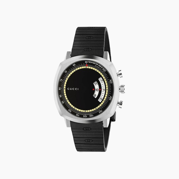 Gucci GG Grip Rubber Strap Watch