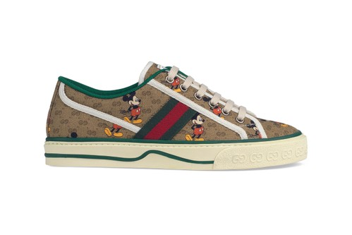 Gucci's Tennis 1977 Sneaker Emerges From the Archives in Seven New Iterations
