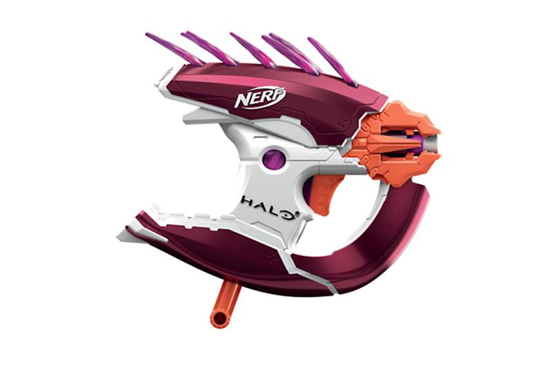 Hasbro Halo NERF Blasters Info guns toys video games master chief needler Remove term: 343 Industries 343 Industries