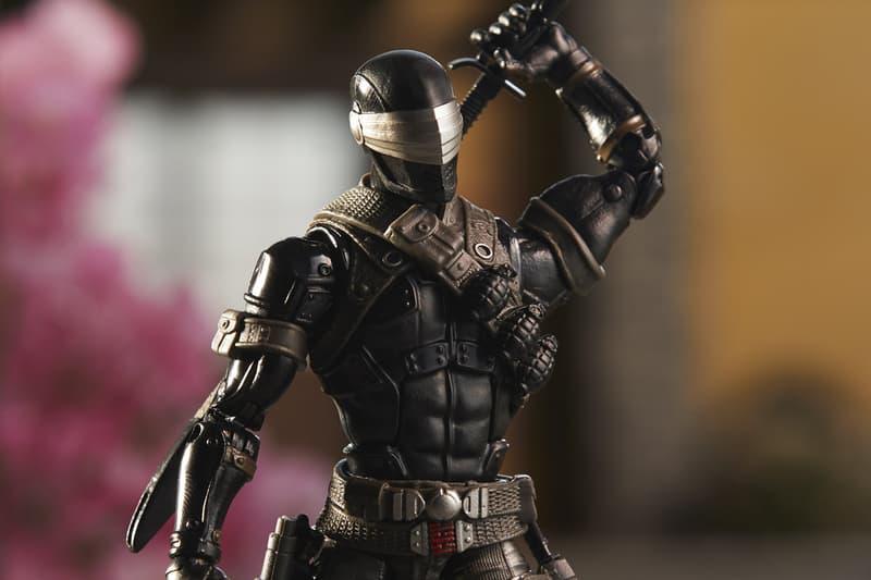 Hasbro Snake Eyes Figure G.I. Joe Classified Star Wars Black figures