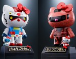 Hello Kitty and Gundam Reveal Two New Crossover Mecha Figures