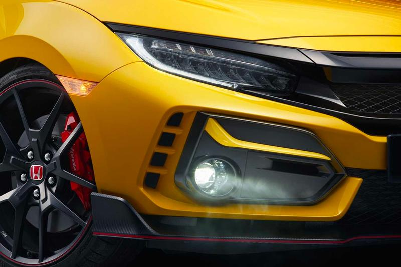 honda civic type r limited edition united states america release nurburgring race track racing record