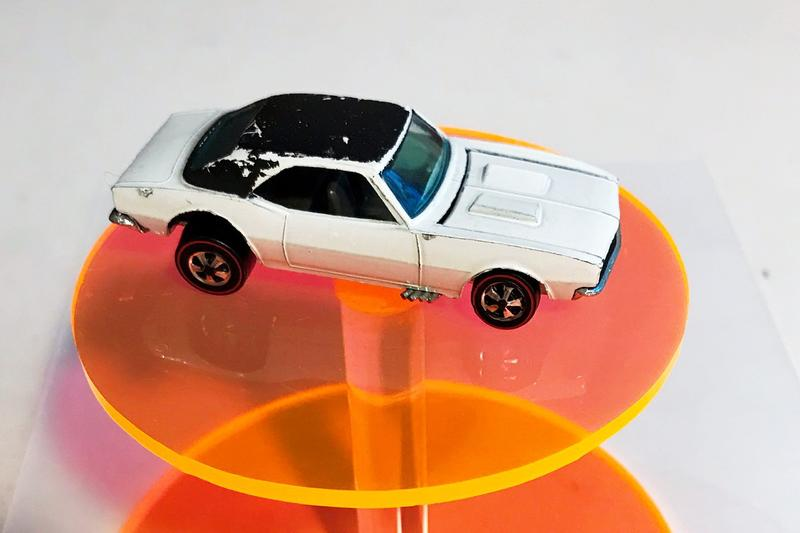"""Hot Wheels Chevrolet Camaro Model Toy Car Super Rare Collectable Joel Magee $100,000 USD """"Holy Grail of Hot Wheels Collectibles"""" Mattel Original 16 OG Prototype"""
