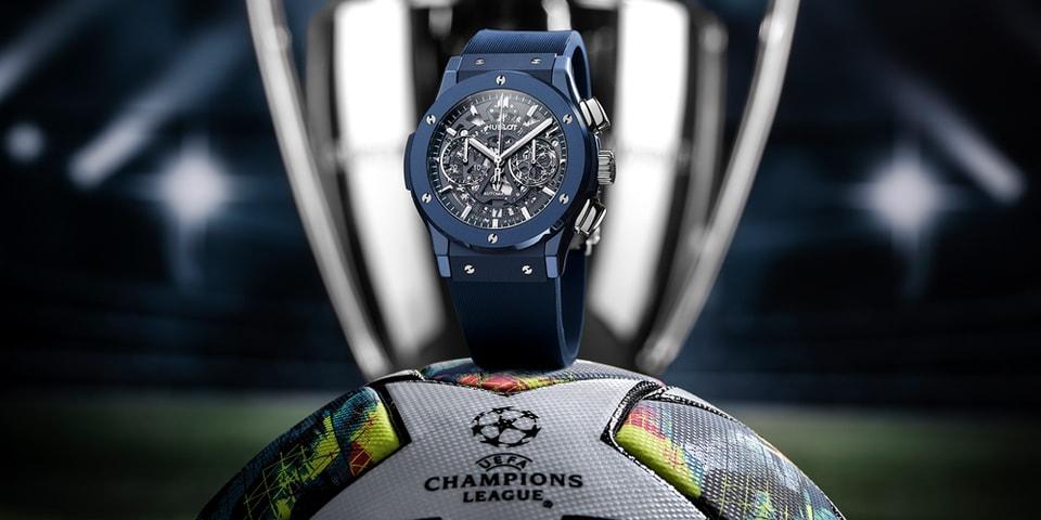 Hublot Celebrates the UEFA Champions League With New AeroFusion Chronograph