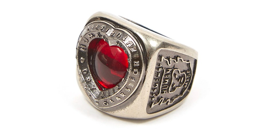 HUMAN MADE Crafts New Collegiate Heart Ring