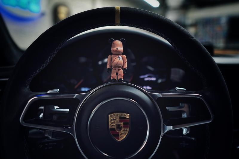 "Illest x Medicom Toy BE@RBRICK ""Pink Pig"" Release Info GT3RS Porsche Race Car"