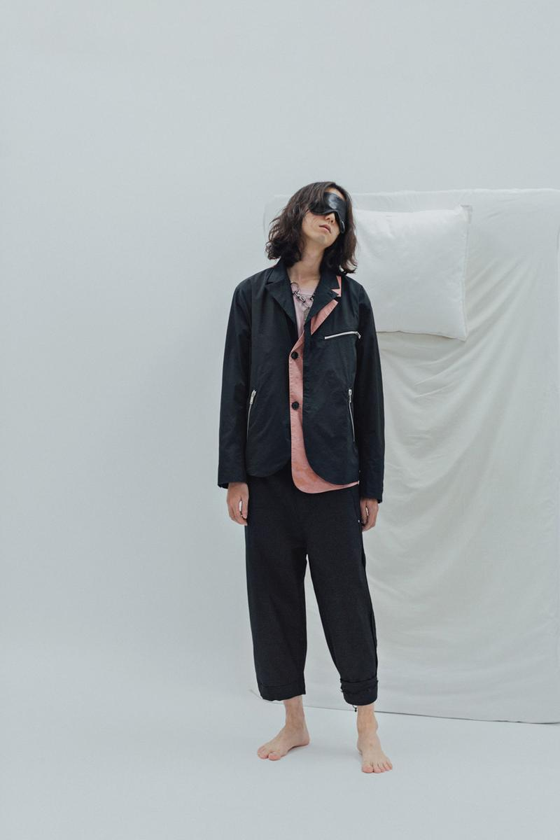 "Indice Studio Spring/Summer 2020 ""Somnambulist"" Collection Trench Coats Pajama Shirts Pants T-shirts Jackets Sleeping Masks Cloud Pattern"