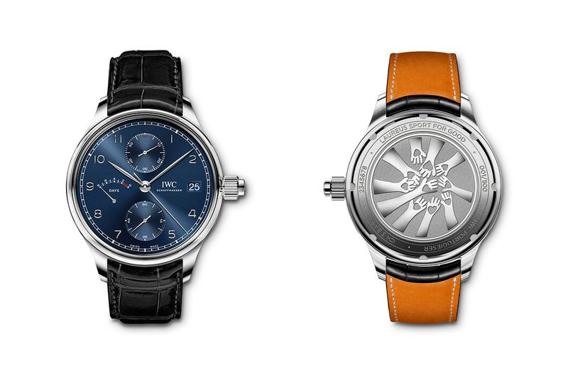 iwc schaffhausen laureus world sports awards for good portugieser monopusher manual hand wind