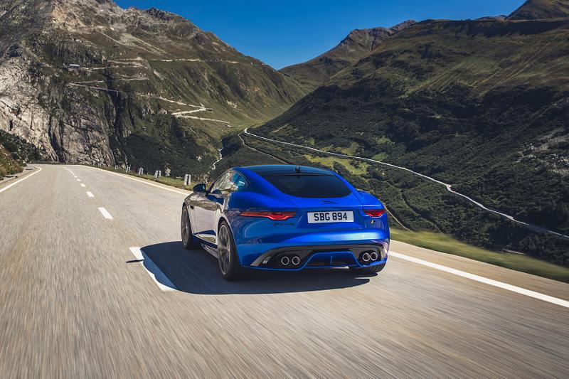 Jaguar Unveils F-TYPE Coupé and Convertible Range Car Automotive
