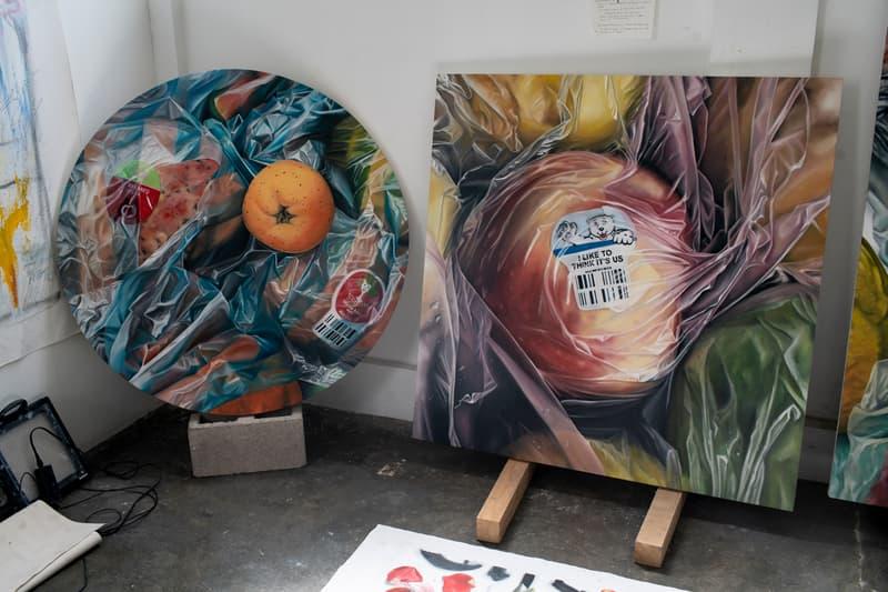 james evans open studio la bayoneta art week mexico city zona maco