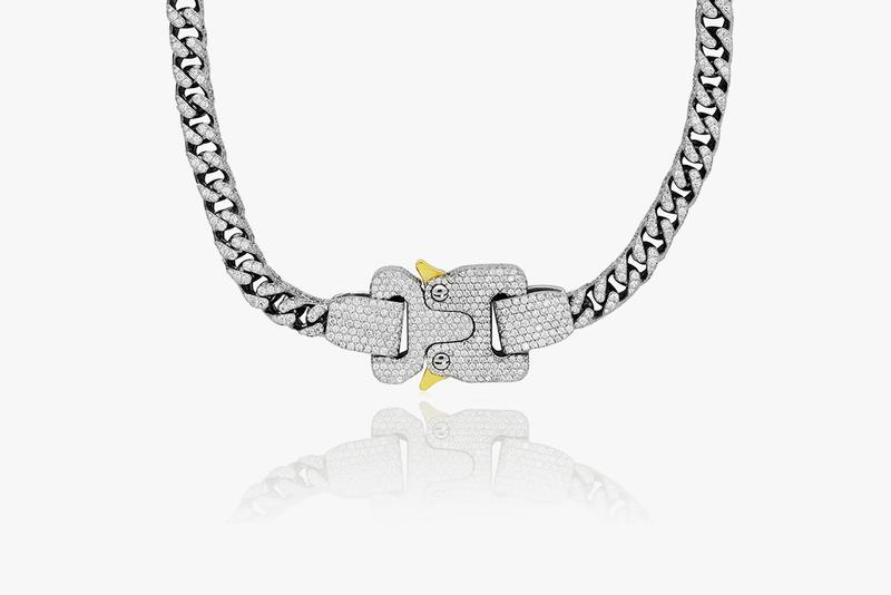 Drake Gifts Matthew Williams Diamond Alyx Chain diamonds Jason of Beverly Hills accessories jewelry bust down 1017 ALYX 9SM