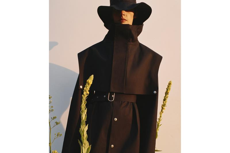 Mackintosh x Jil Sander+ Spring/Summer 2020 Collection Coats Outerwear Belts Black Light Gray