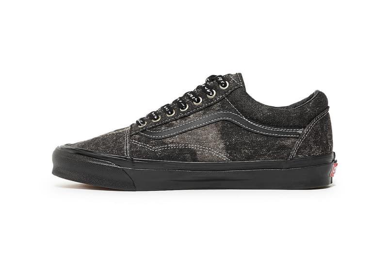 Jim Goldberg x Vans Slip-On LX Old Skool LX Sk8-Hi LX Acid Wash TV Static Leather Release Information Cop Drop Sneaker Footwear Collaboration Skateboarding Artist