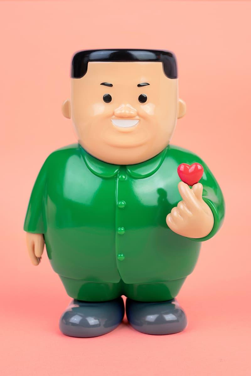 joan cornella kim jong un k love vinyl sculpture allrightsreserved valentines day release collectibles north korea