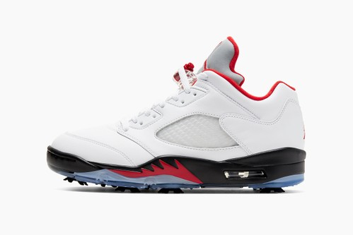 "Air Jordan 5 Low Golf ""Fire Red"""