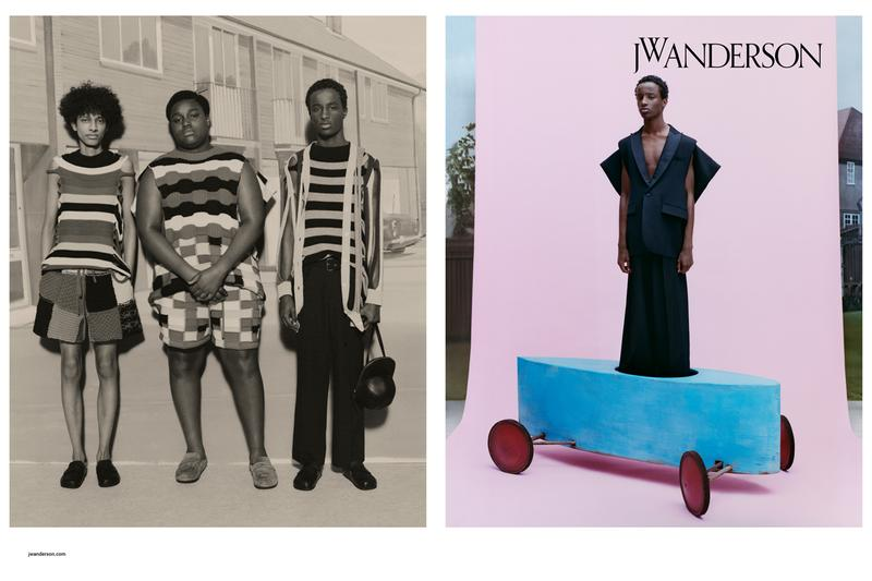 JW Anderson Spring/Summer 2020 Campaign Collection Giant Tricycles Dresses Knitwear Tailored Suits