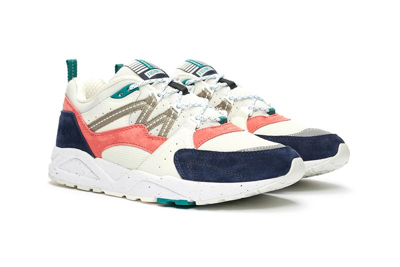 Karhu fusion 2.0 synchron classic monthless F802649 F804075 lantana lunar rock night sky yellow pink blue white grey release information sneakersnstuff buy cop purchase trainers sneakers
