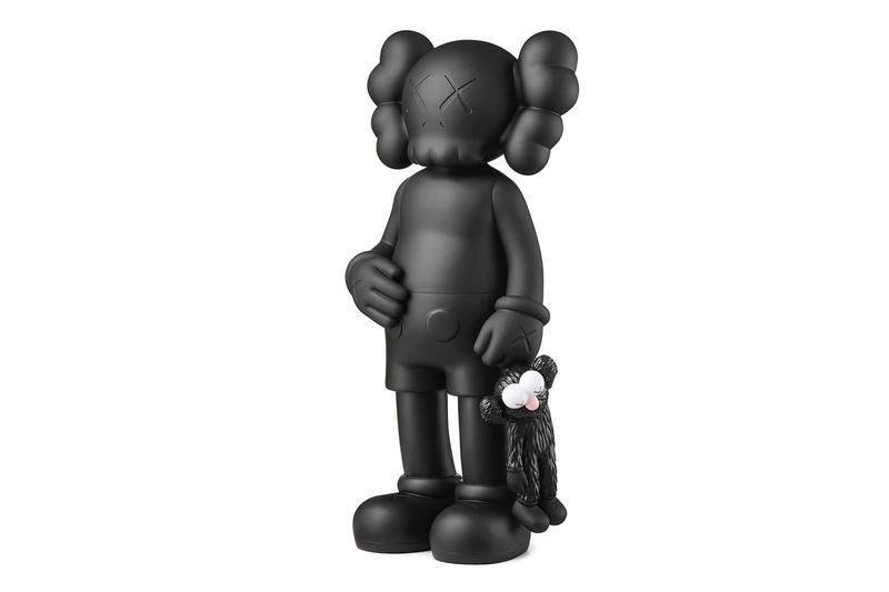 kaws share companion vinyl figures release artworks