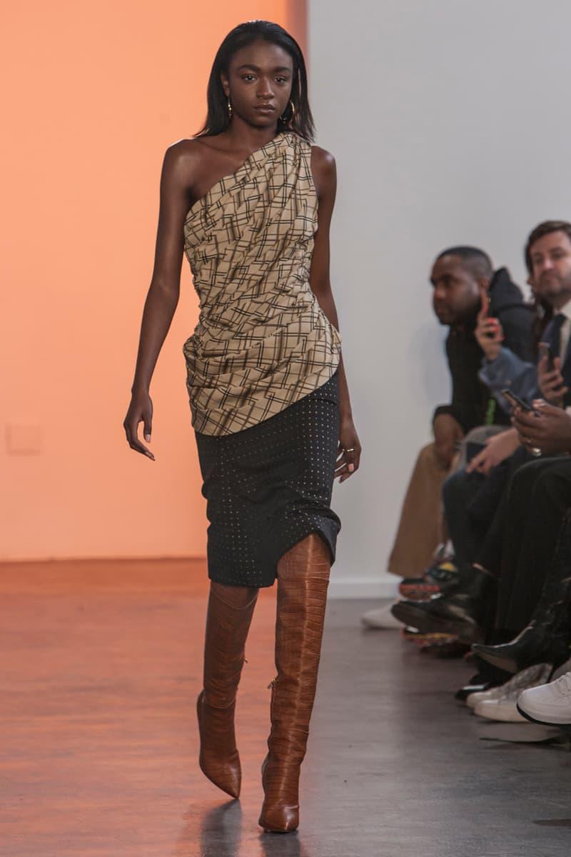 kenneth nicholson fall winter 2020 runway show new york fashion week nyfw grandmas couch hinton group
