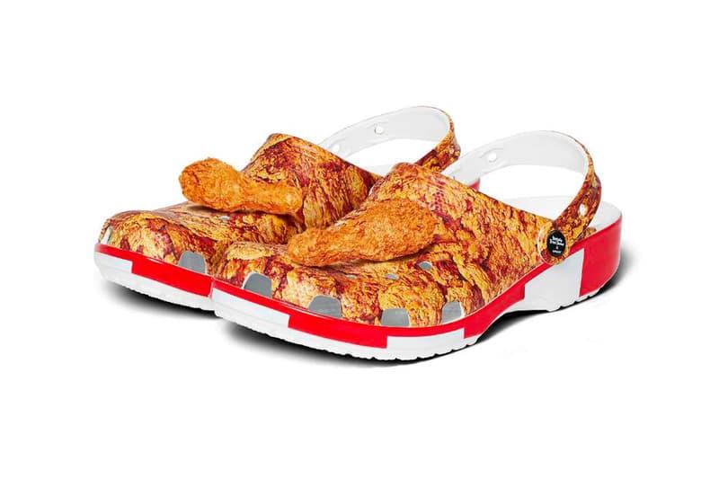 KFC Crocs Collaboration Unveil Release Info Me Love Me A Lot MLMA Buy Price Jibbitz Kentucky Friend Chicken