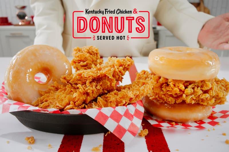 KFC Fried Chicken Donuts Nationwide Release Info Kentucky Chicken