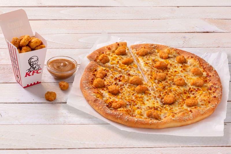 KFC Pizza Hut Popcorn Chicken Pizza Release Info Order Where Review