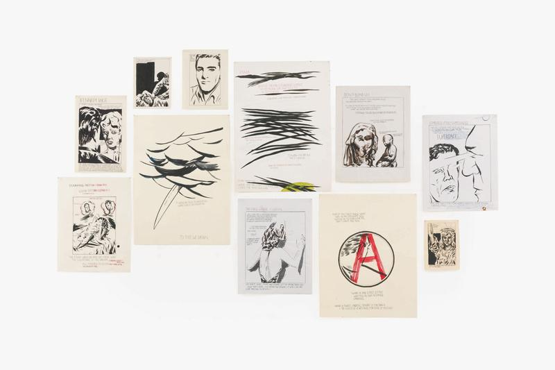 Kim Jones Dior Men & Sotheby's Contemporary Curated Sale Auction Paintings David Hockney Cindy Sherman Ed Ruscha Kerry James Marshall Raymond Pettibon KAWS Yoshitomo Nara George Condo Jonathan Lyndon Chase