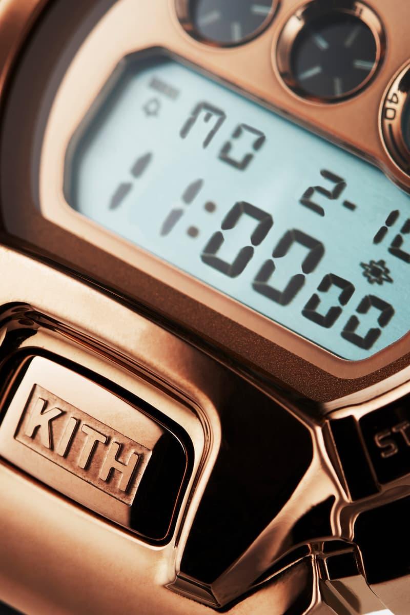 KITH Casio G-SHOCK GM-6900 Rose Gold