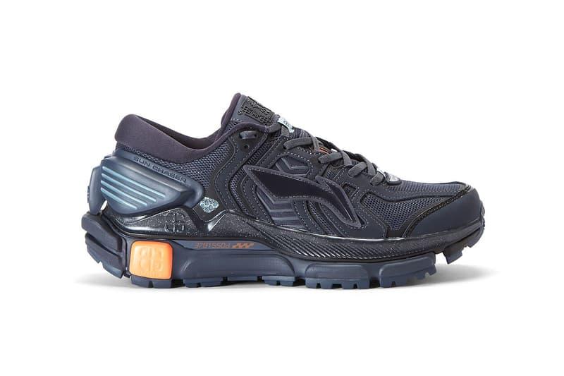 li ning sun chaser blue orange burgundy white red running shoe release date info photos price