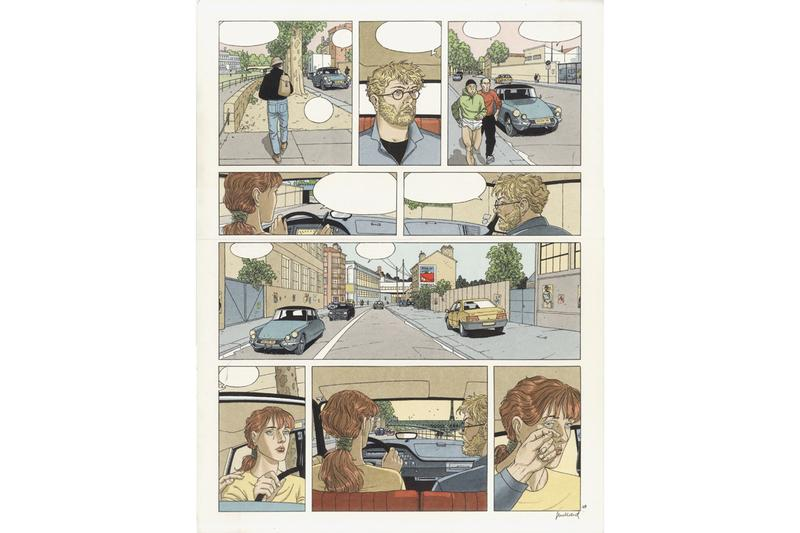 """Line and Frame: A Survey of European Comic Art"" Daneses/Corey Gallery Art9 Comic Strips Books Television Series Film"