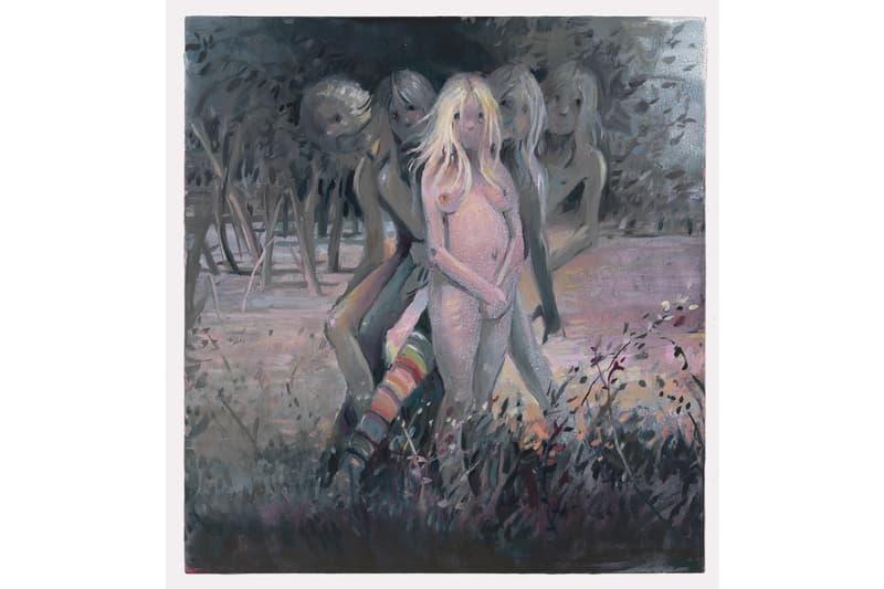 lisa yuskavage wilderness exhibition artworks paintings