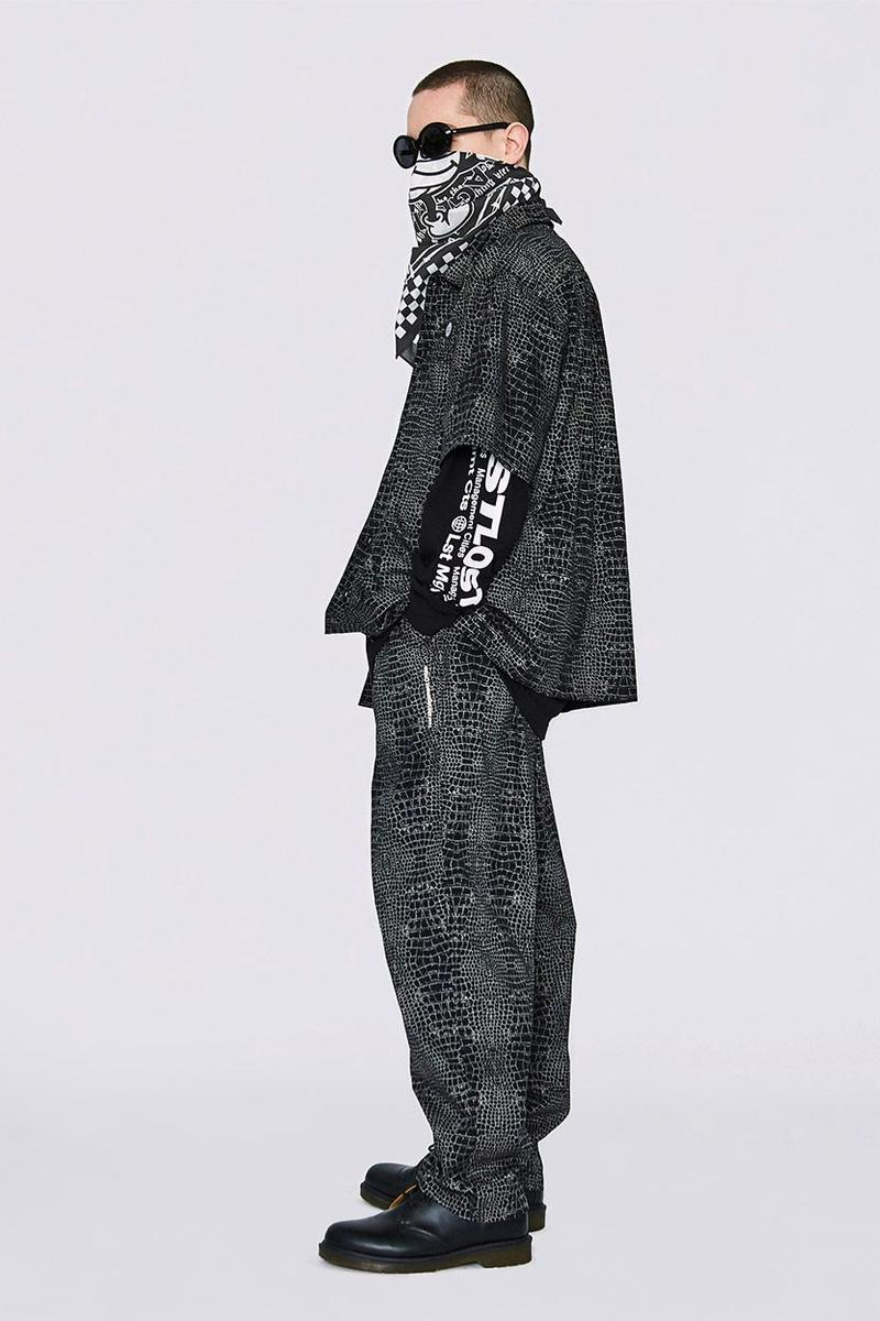 LMC Spring 2020 Collection lookbook lost management cities 1970 inspiration hippie jackets coats shirts hoodies windbreakers denim tie dye track pants graphic tees t shirts streetwear