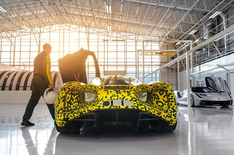 Lotus Evija All-Electric 2000 PS Hypercar Unveiled Closer Look Official Release Information Hethel UK New Factory 2020 Deliveries Prototype Race Track Car British