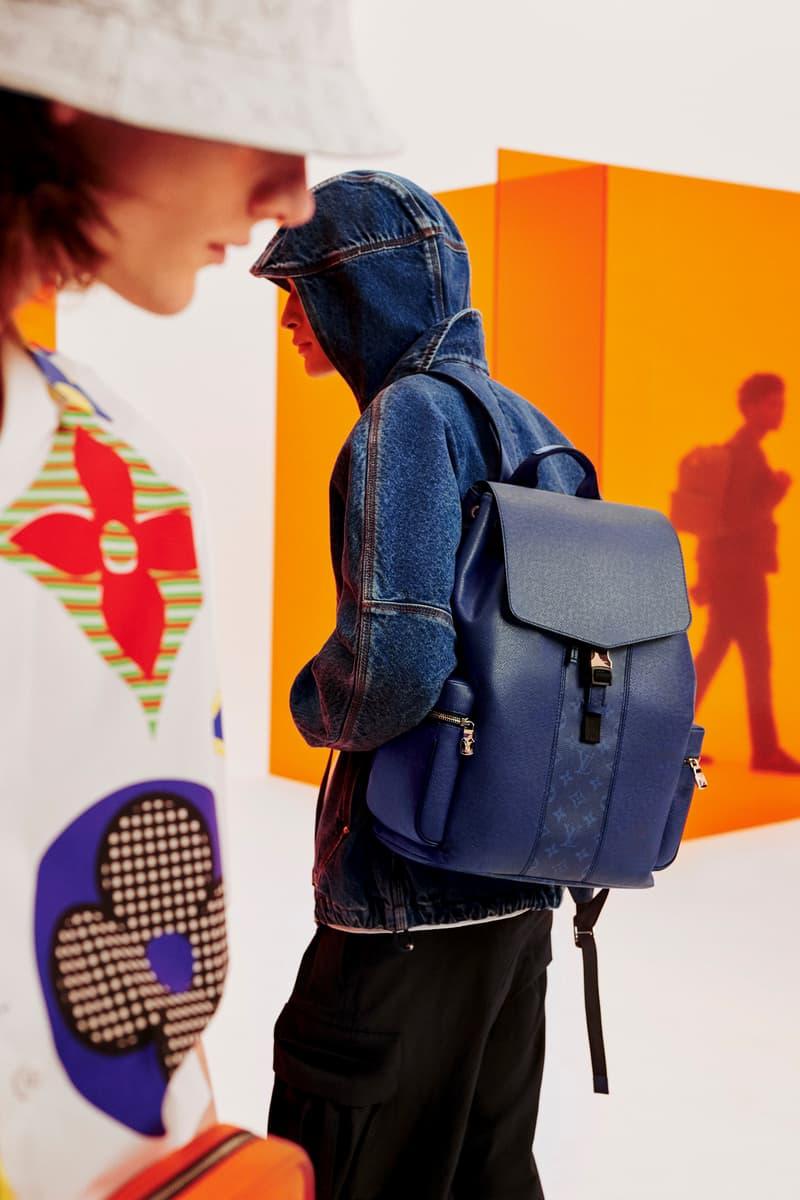 Louis Vuitton Taïgarama SS20 lookbook spring summer 2020 leather goods release info lv monogram bags accessories travel