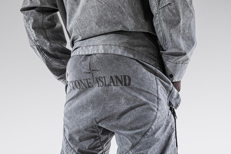 LUISAVIAROMA Exclusive Stone Island Plated Reflective Dust Shorts Parka Release Info Buy