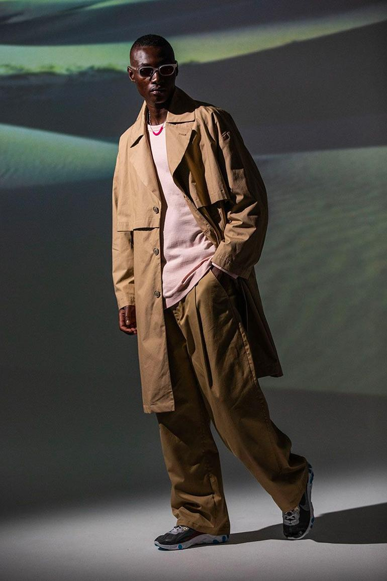 MAGIC STICK Spring Summer 2020 Lookbook collection capsule tokyo collaboration wild things avirex technical discus athletic japanese designer coats jackets pullover anoraks