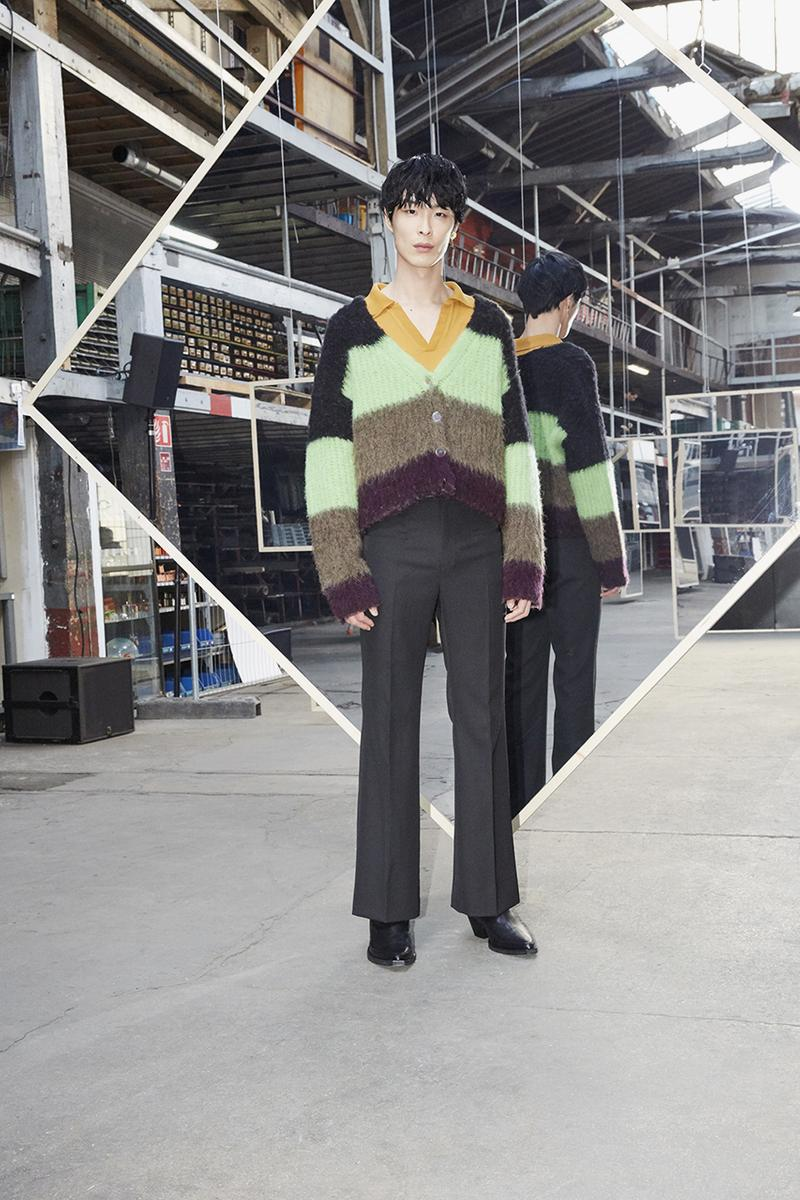 Maison Kitsuné Fall/Winter 2020 Collection Yuni Ahn Creative Director Last Season Menswear Womenswear Lookbooks l'Homme l'Femme '70s Rock Grunge Color