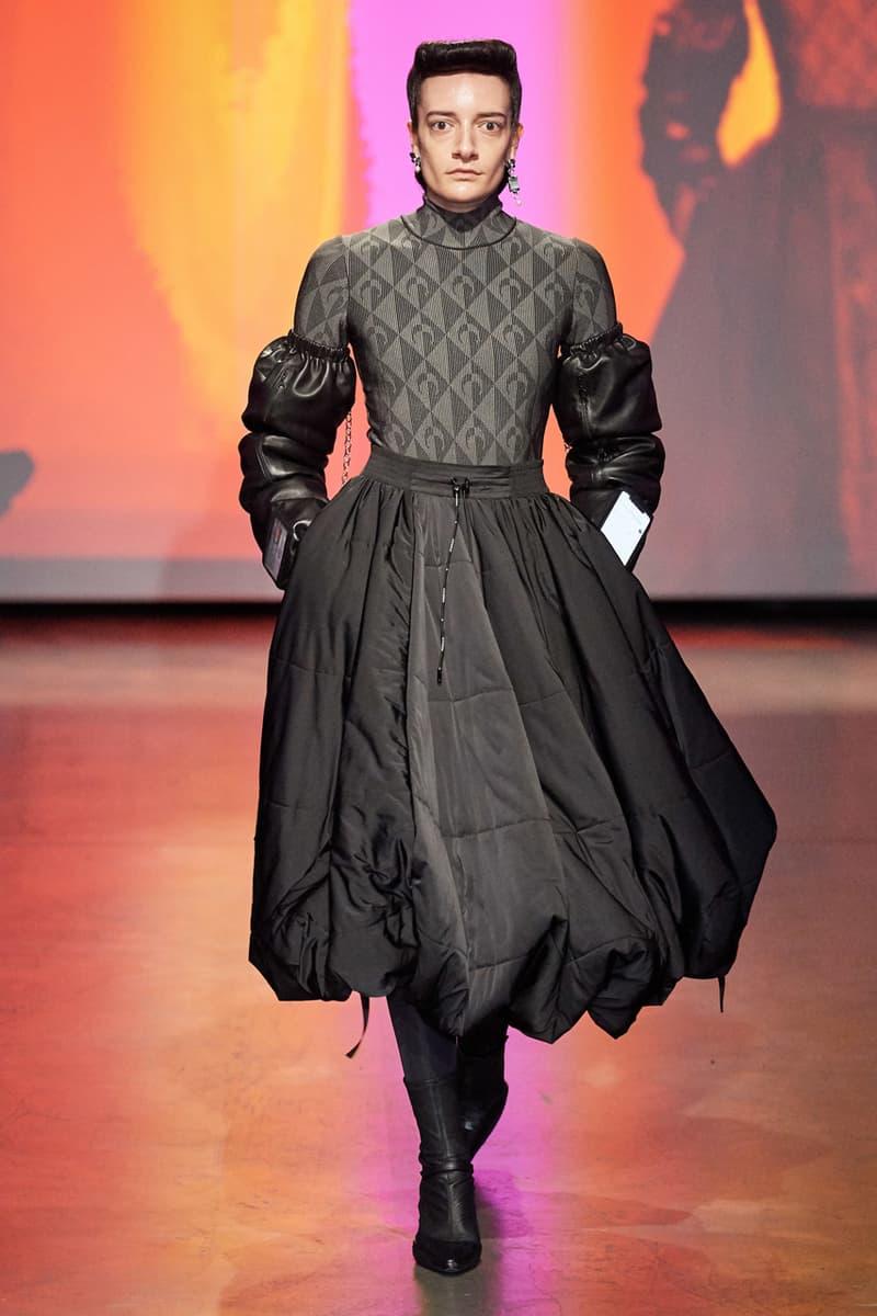 Marine Serre Fall/Winter 2020 PFW Collection menswear runway fw20 paris fashion week MIND MELANGE MOTOR