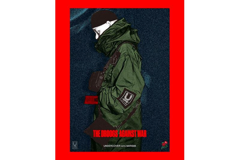 Mars89 UNDERCOVER The Droogs Against War Spring Summer 2020 Capsule Collection Info Jun Takahashi Release Info