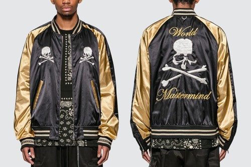 mastermind WORLD Releases Statement-Making Skull Souvenir Jacket