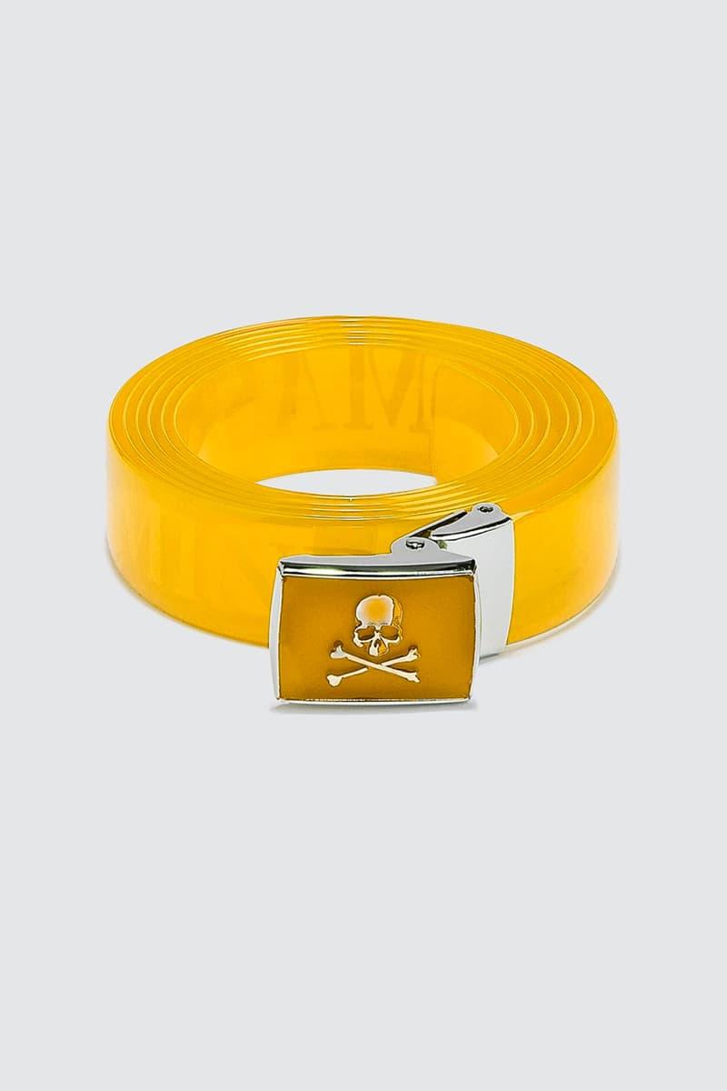 mastermind WORLD Vinyl Belt Release Info Buy Price Black Red Pink Yellow Orange