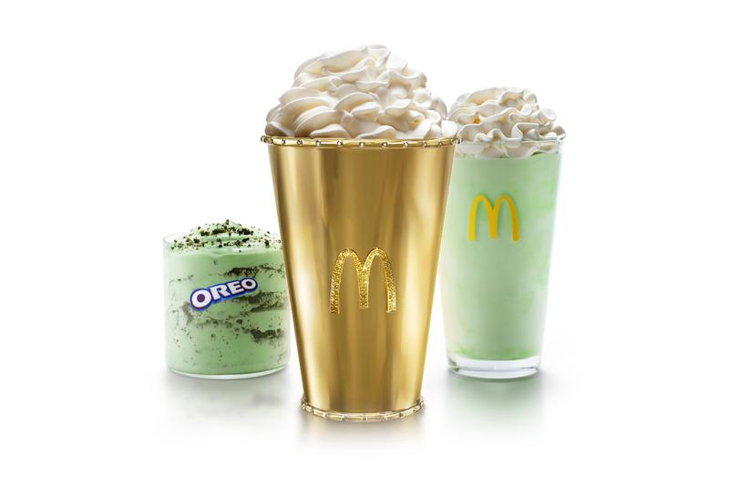McDonalds $100K USD Golden Shamrock Shake Info Release Celebrate 50 Year Anniversary