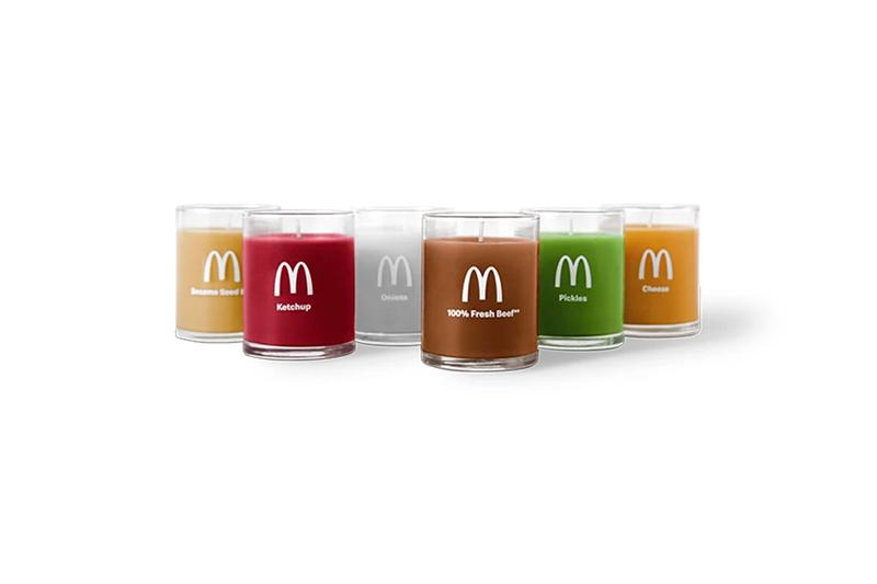 Mcdonald's Quarter Pounder Fan Club Merch Release Info Buy Price Scented Candle Pack Locket Mittens Pin Calendar T shirt