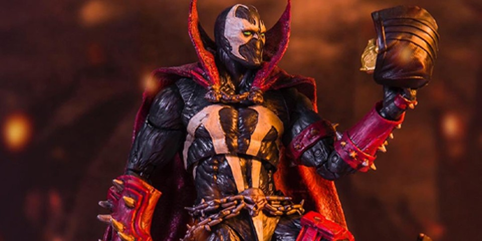 McFarlane Toys Crafts 'Mortal Kombat 11' Vers. Spawn Action Figure