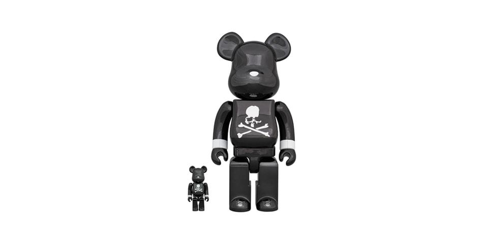 "Medicom Toy & mastermind JAPAN Unveil Glossy ""Black Chrome"" BE@RBRICK"